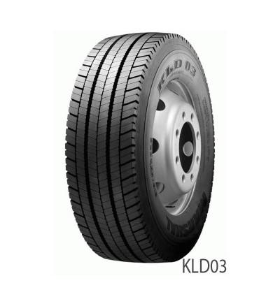Anvelopa CAMION KUMHO Kld-03 Tractiune Autostrada - Garantie 5 Ani - Korea 295/60 R 22.5 150k